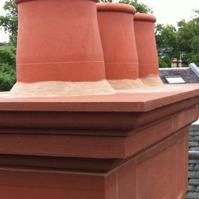 A chimney that our team have worked on