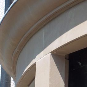 Close up of the detailing work carried out b your team