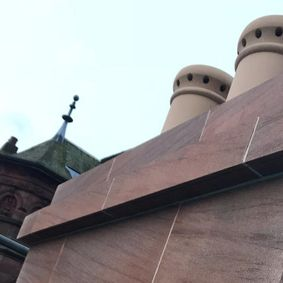 chimney repair work that has been carried our by our professionals