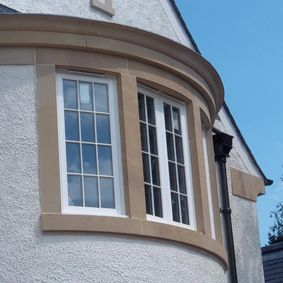 Bay window decoration work that has been carried out by our team